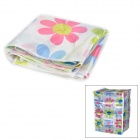Flowers Pattern Water Resistant Dust-Proof Auto Washing Machine Cover - Multicolored