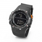 BL5065 Men's Sports Water Resistant Digital Wrist Watch - Black (1 x CR2025)