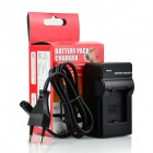 DSTE AHDBT-302 301 201 EU Plug Battery Charger for GoPro HD Hero 3 or 3+ Video Camera - Black