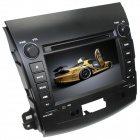 "LsqSTAR 7"" 2-Din Car DVD Player w/ GPS,RDS,AUX,SWC,Radio,PIP,MP5,BT,Can bus for Mitsubishi outlander"