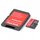 SANDISK Micro SD / TF 16GB Extreme Pro Card ж / TF Card до SD Card адаптер - черный (16 Гб)