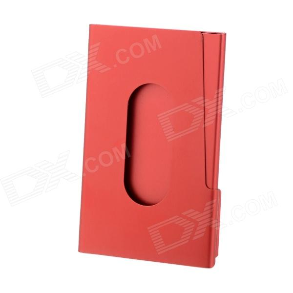 Creative Business Style Card Holder - Deep Pink
