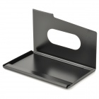 Zinc Alloy Business Name Card Holder Case - Black