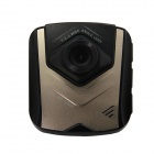 "2.4"" TFT LCD 12 MP CMOS 120 Degree Wide-angle Lens Car Digital Video Camcorder DVR - Black + Golden"