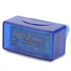 KGD KGD327 Super Mini ELM327 OBD2 Bluetooth V1.5a Car Diagnostic Tool - Blue