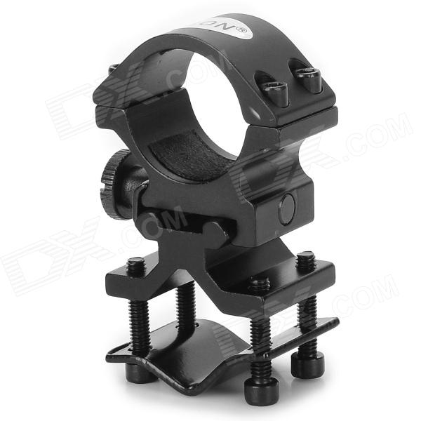 LSON XL-302 Aluminum Alloy 21mm Gun Mount Holder for 24~26mm Flashlight - Black