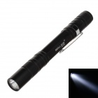 SMALL SUN ZY-720 50lm 6000K White light Pen Shape Flashlight - Black (2 x AAA Battery)