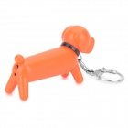 Cute Cartoon Dog Red Flame Butane Lighter - Orange + Black
