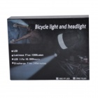 RichFire SF-90 Cree XM-L T6 800lm White 4-Mode Bicycle Headlight Headlamp - Gray + Red (4 x 18650)