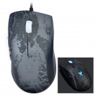 Rapoo V200 USB 2.0 3000DPI Optical Gaming Wired Mouse - Black