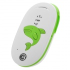 Portable GSM / GPRS / GPS Position Tracker / Alarm - White + Green