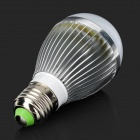 GHL-Q252 E27 5W 350lm 24-3528 SMD LED Cold White Light Lamp