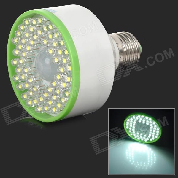 ApolloFlower A006 E27 5W 54lm 3000K 78-LED Warm White Light Energy Saving Sensor Lamp (AC 85-265V)