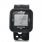 PDM-2610 USB 3D Pedometer Watch - Black