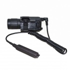 M6 Multifunctional 2-in-1 LED 350lm White Flashlight + Red Laser
