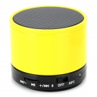 Y-SK-S10C Bluetooth V3.0 Handsfree Speaker w/ Microphone / Mini USB / TF - Golden Yellow + Black