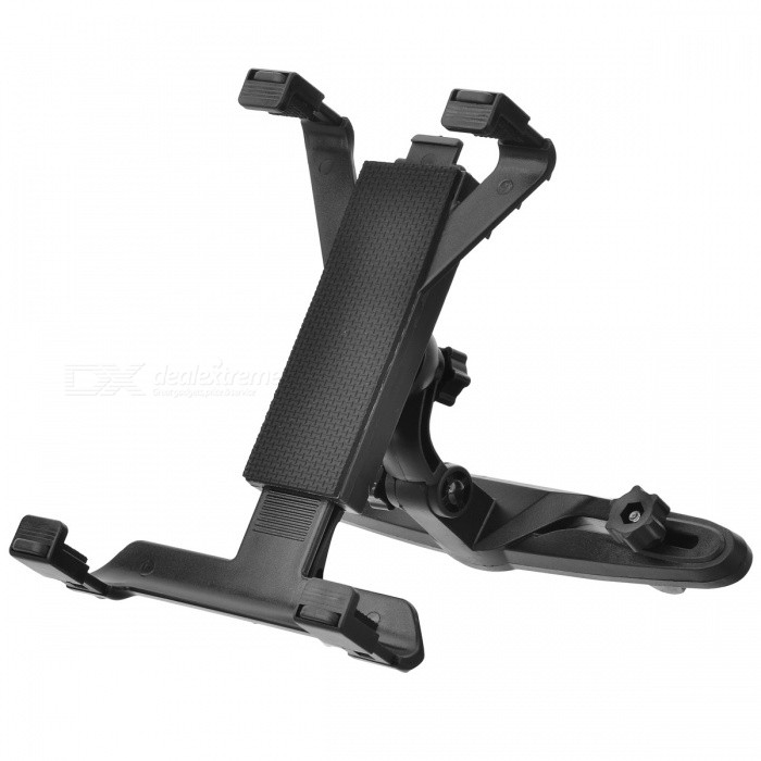 A136 Universal Car Seat Pillow Mount Holder Bracket for Tablet / PC - Black