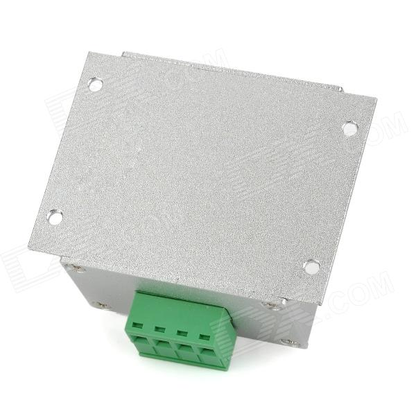 Aluminum Alloy 8a Led Rotary Dimmer Silver Dc 12 24v