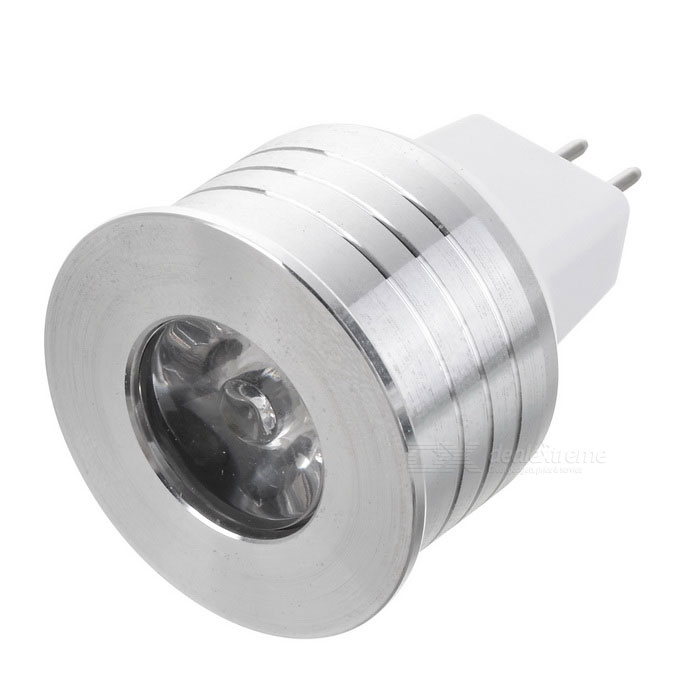 MR16-1W GU5.3 12V 100lm COB fresco Spotlight Luz Blanca (12V)