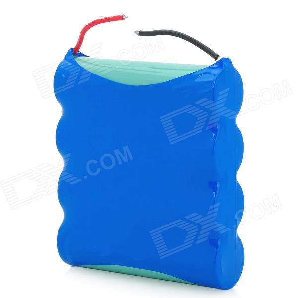 4 x 18650 Portable 3.7V 8000mAh Lithium-Ion Battery - Blue