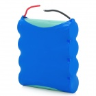 18650X4 Portable 3.7V 8000mAh Lithium-Ion Battery - Blue