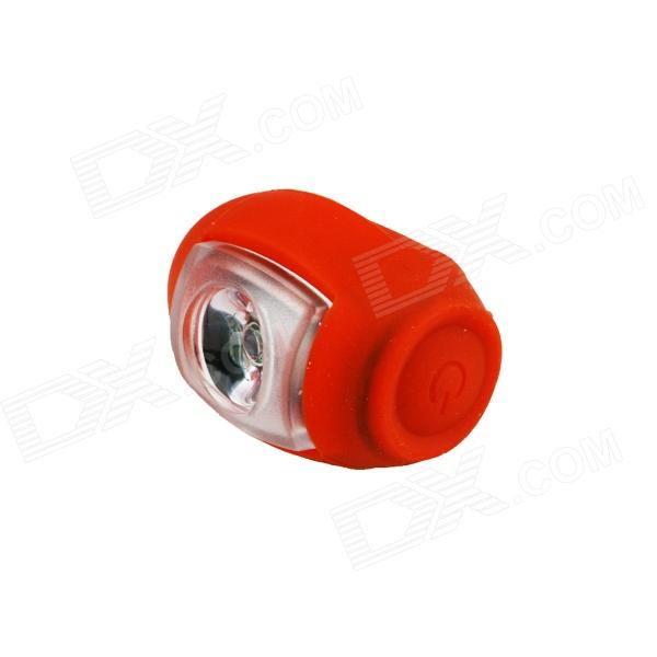 Kindfire USB Charge 50lm 3-Mode Red Light Bike Tail Light - Red (1 x LIR2477)