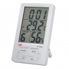 "4.3"""" Digital LCD Humidity/Hygrometer and Thermometer with Alarm Clock (1*AAA included)"