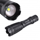 RichFire SF-705A CREE XML T6 800lm 5-Mode White Zooming LED Flashlight - Black (1 x 18650 / 3 x AAA)