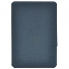 Oracle mønster beskyttende PU Leather Case Cover Stand for Retina iPad Mini - Grå