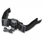 HGYBEST Helmet Strap Mount w/ Quickly Assemble Plug for GoPro Hero / 2 / 3 / 3+ / SJ4000 - Black