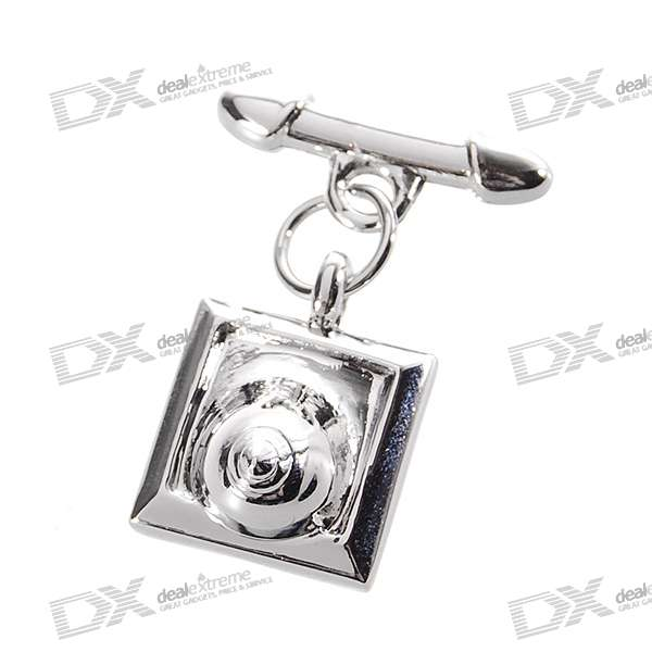 GOBON Stainless Steel Men's Decoration Keychain