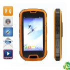 "Enjoy S09 MTK6589W Quad-Core IP68 Waterproof Dustproof Android 4.2 WCDMA Phone w/ 4.3"" IPS - Orange"