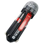 8-in-1 Screw Drivers Toolkit 3-LED Flashlight 3xAAA