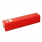 "FF07 Compact ""3000mAh"" Rechargeable Li-ion Power Bank for Samsung / IPHONE + More - Wine Red"