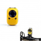 PANNOVO DV-M600-A 5.0 MP CMOS 1080P HD 120 Degree Waterproof Sports Camera w/ AP Wi-Fi - Yellow
