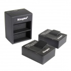 Kingma AHDBT-302 1180mAh Batteries + Dual-Slot USB Charger for GoPro HD HERO3+, HERO3 - Black