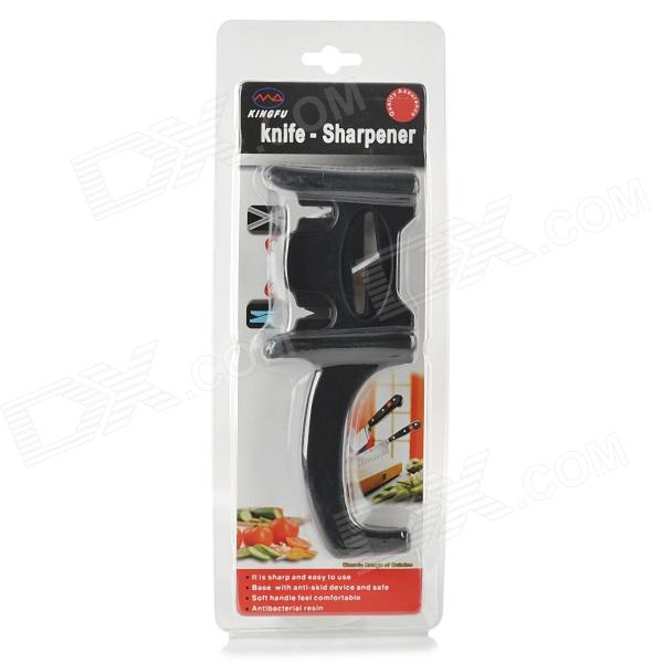 Handheld Ceramic + Tungsten Steel Knife Maintenance and Sharpener