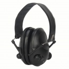 Noise Reduction Protection Earmuff - Black