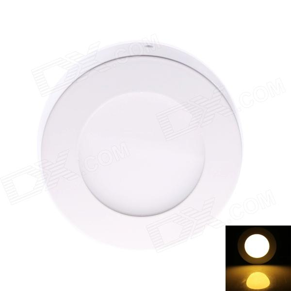 JOYDA-MBM4110YWW DC Plug 6W 680lm 3000K 30 x LED Warm White Round Ceiling Light - White (AC 85~265V) - DXCeiling Light<br>The LED ceiling light is a ceiling embedded downlight illumination light the perfect unity of the ceiling art wont be destroyed by the light setting. Apply for your home decoration mall hotel office room museum showcase and other common illumination places. 1. Good quality delicate appearance bright color high-end and fashionable. 2. LED light source: TaiWan chip wafer packaging with higher brightness. 3. Adopt the worlds most advanced illumination technology at present more highlights the green environmental illumination. 4. Its appearance adopts the most scientific die casting technology currently back dusting and baking painting more delicate appearance. 5. Solid illumination technology stable voltage and current up to 50000-hour use life longer use life. 6. Adopt high-lumen LED light bead more obvious energy saving effect can save 80% energy.<br>
