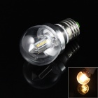 E27 4W 250lm 3000K 32 x SMD 3014 LED Warm White Light Lamp Bulb - Silver (85~265V)