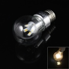E27 4W 180lm 3000K 8 x SMD 5630 LED Warm White Light Lamp Bulb - (85~265V)