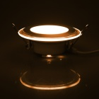 JOYDA-BL06Y WW 6W 590lm 3000K 10-LED Warm White Round Ceiling Light - White (AC 85-265V)