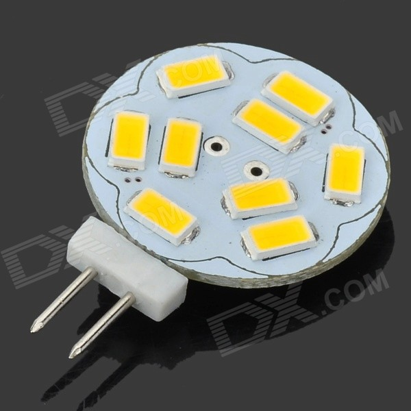 JRLED G4 3W 290lm 9 x SMD 5630 LED Warm White Car Reading Lamp (12V) jrled g4 3w 300lm 9 x smd 5630 led white light car reading lamp ac dc 12v