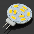"JRLED G4 3W ""290lm"" 9 * SMD 5630 LED Warm White Car Reading Lamp (12V)"