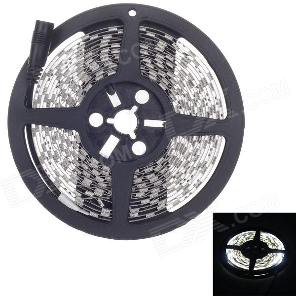 72W 4500lm 300-SMD 5050 LED Neutral White Decoration Light Strip (5m)5050 SMD Strips<br>Form  ColorBlackColor BINNeutral WhiteMaterialFPCQuantity1 DX.PCM.Model.AttributeModel.UnitPower72WRated VoltageDC 12 DX.PCM.Model.AttributeModel.UnitEmitter Type5050 SMD LEDTotal Emitters300Wavelength-Actual Lumens4500 DX.PCM.Model.AttributeModel.UnitPower AdapterOthers,N/APacking List1 x LED light strip (5-meter)<br>