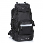 LOCAL LION 394 Outdoor Travel Nylon Mountaineering Backpack Bag - Black (45L)