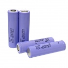 "Samsung ""3200mAh"" 3.7V 18650 Rechargeable Lithium Battery - Purple (4 PCS)"