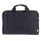 "Tee 11.6"" Shock-Proof Water Resistant One-shoulder Sleeves Bag w/ Handle for Notebook - Black"
