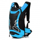 LOCAL LION 450 Cycling Nylon Backpack Bag - Black + Blue (12L)