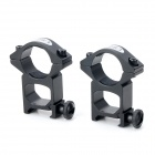 LSON 25GK 21mm Gun Rail Mount - Black (2PCS)